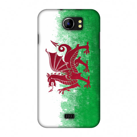 Love For Wales Slim Hard Shell Case For Micromax Canvas 2 A110