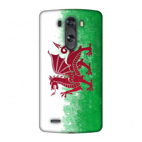 Love For Wales Slim Hard Shell Case For LG G4