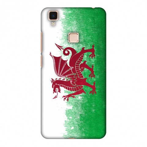 Love For Wales Slim Hard Shell Case For Vivo V3 Max