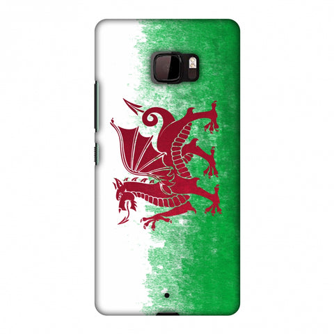 Love For Wales Slim Hard Shell Case For HTC U Ultra