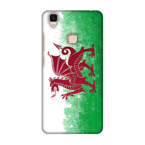 Love For Wales Slim Hard Shell Case For Vivo V3