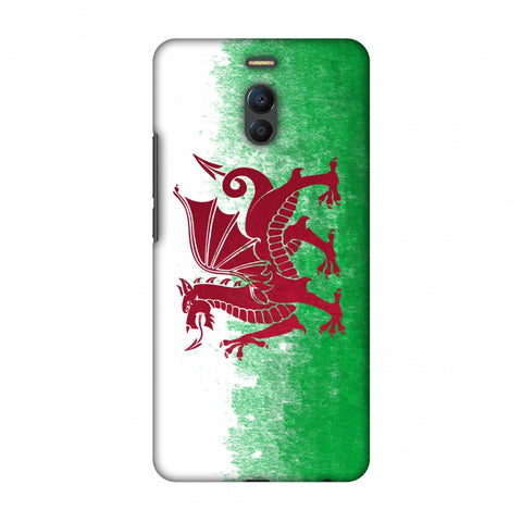 Love For Wales Slim Hard Shell Case For Meizu Note 6