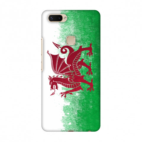 Love For Wales Slim Hard Shell Case For Vivo X20 Plus