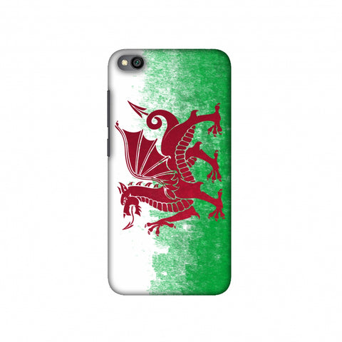 Love For Wales Slim Hard Shell Case For Redmi Go