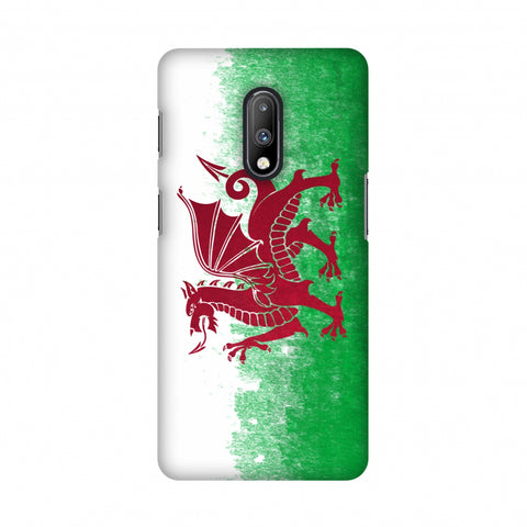 Love For Wales Slim Hard Shell Case For OnePlus 7
