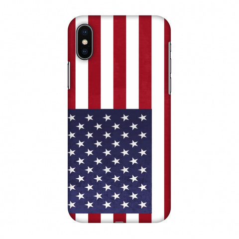 Love For USA Slim Hard Shell Case For Apple iPhone X