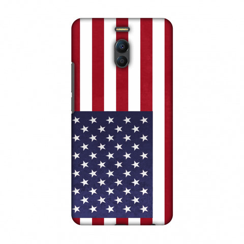 Love For USA Slim Hard Shell Case For Meizu Note 6