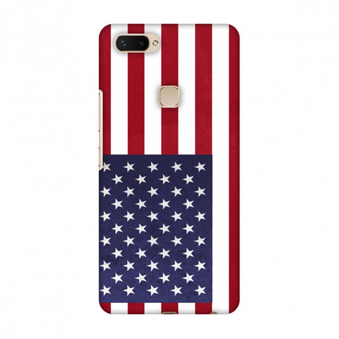 Love For USA Slim Hard Shell Case For Vivo X20 Plus