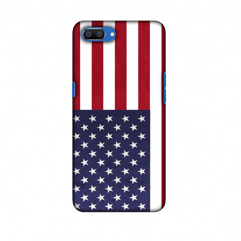 Love For USA Slim Hard Shell Case For Oppo Realme C1