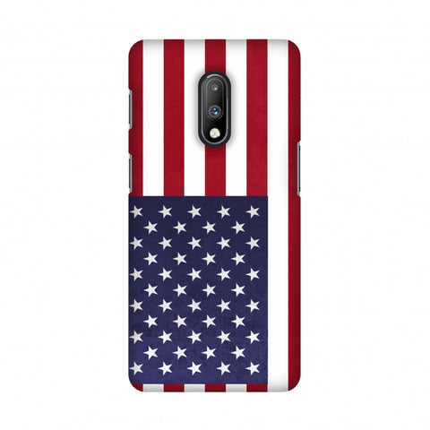 Love For USA Slim Hard Shell Case For OnePlus 7