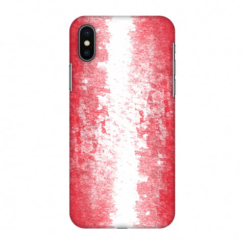 Love For Austria Slim Hard Shell Case For Apple iPhone X