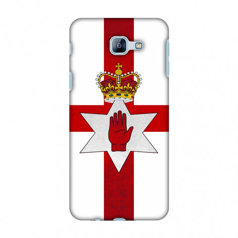 Love For Nothern Ireland Slim Hard Shell Case For Samsung Galaxy A8 2016