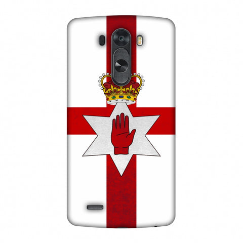 Love For Nothern Ireland Slim Hard Shell Case For LG G4
