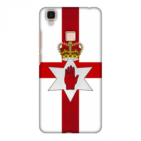 Love For Nothern Ireland Slim Hard Shell Case For Vivo V3 Max
