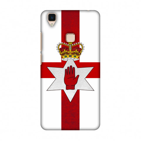 Love For Nothern Ireland Slim Hard Shell Case For Vivo V3