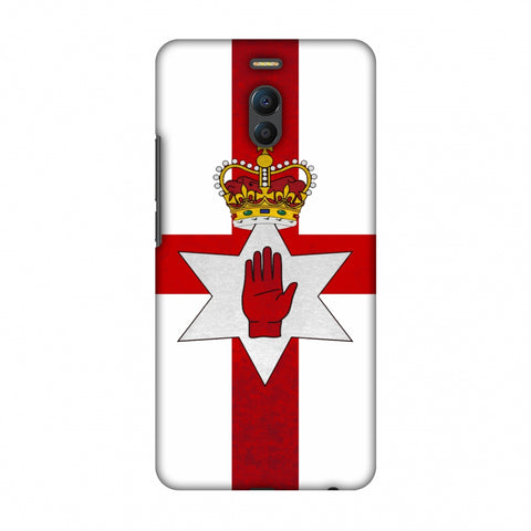Love For Nothern Ireland Slim Hard Shell Case For Meizu Note 6