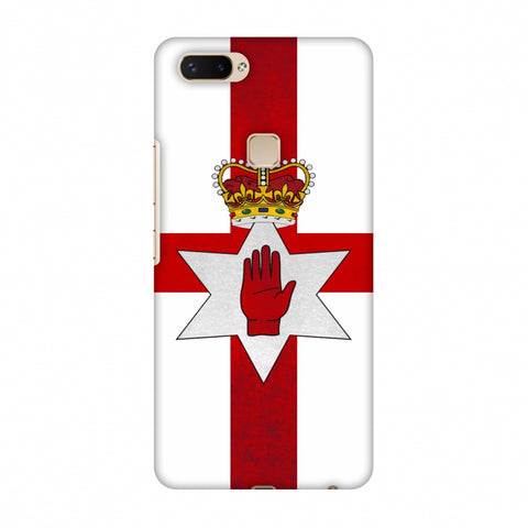 Love For Nothern Ireland Slim Hard Shell Case For Vivo X20 Plus