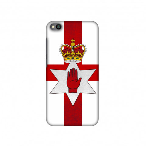 Love For Nothern Ireland Slim Hard Shell Case For Redmi Go