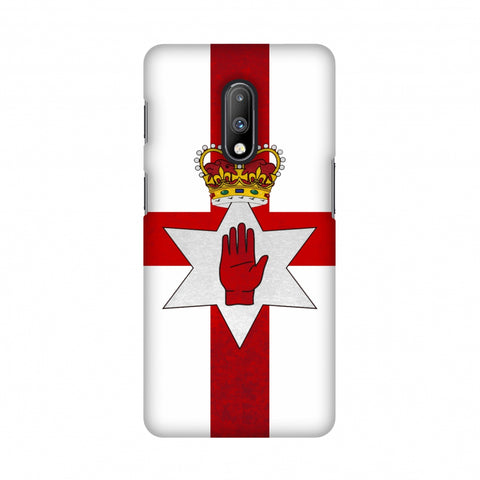Love For Nothern Ireland Slim Hard Shell Case For OnePlus 7