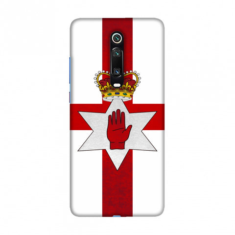 Love For Nothern Ireland Slim Hard Shell Case For Redmi K20/K20 Pro