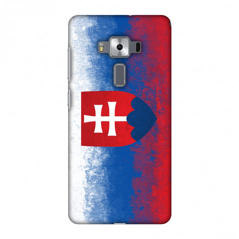 Love For Slovakia Slim Hard Shell Case For Asus Zenfone 3 Deluxe ZS570KL