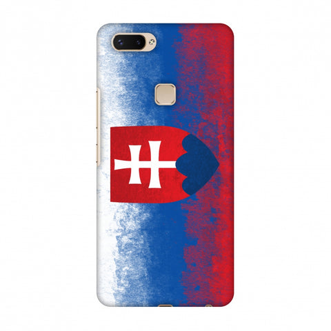 Love For Slovakia Slim Hard Shell Case For Vivo X20 Plus