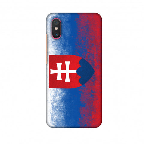 Love For Slovakia Slim Hard Shell Case For Xiaomi Mi 8 Pro