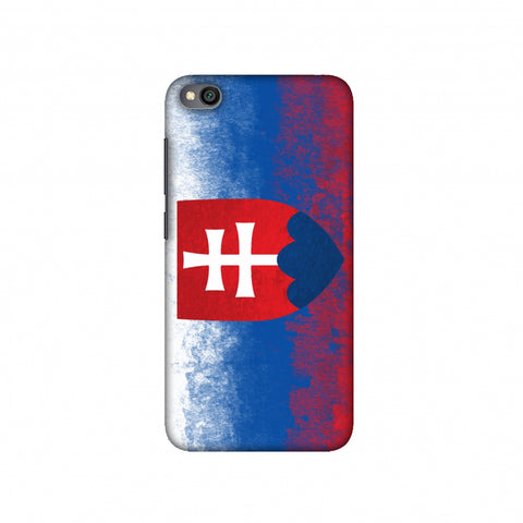 Love For Slovakia Slim Hard Shell Case For Redmi Go
