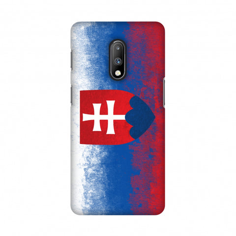 Love For Slovakia Slim Hard Shell Case For OnePlus 7