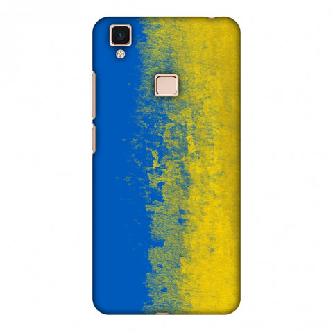 Love For Ukraine Slim Hard Shell Case For Vivo V3 Max