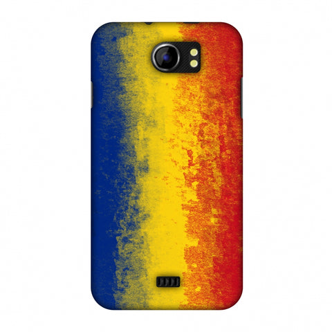 Love For Romania Slim Hard Shell Case For Micromax Canvas 2 A110