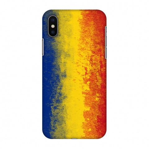 Love For Romania Slim Hard Shell Case For Apple iPhone X