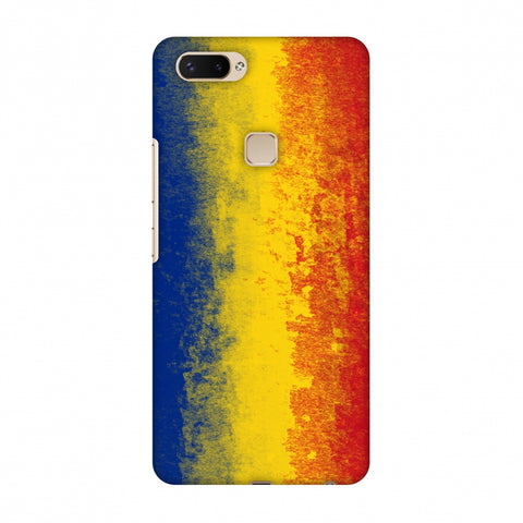 Love For Romania Slim Hard Shell Case For Vivo X20 Plus
