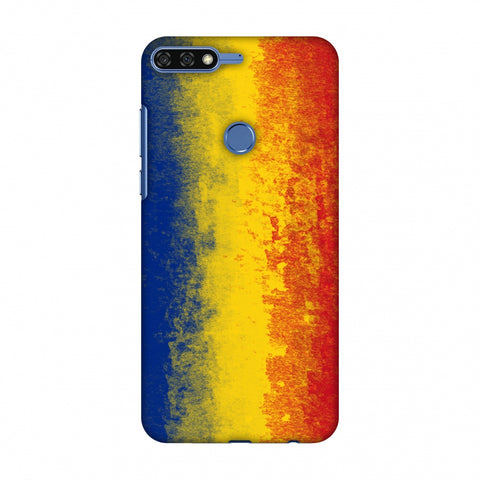 Love For Romania Slim Hard Shell Case For Huawei Honor 7C