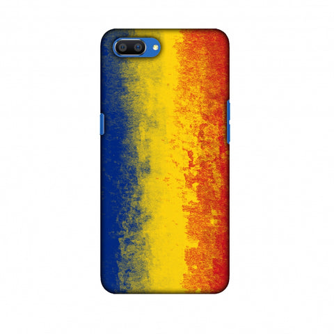 Love For Romania Slim Hard Shell Case For Oppo Realme C1