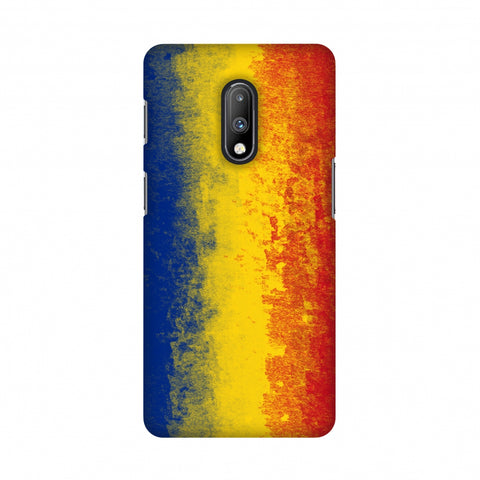 Love For Romania Slim Hard Shell Case For OnePlus 7