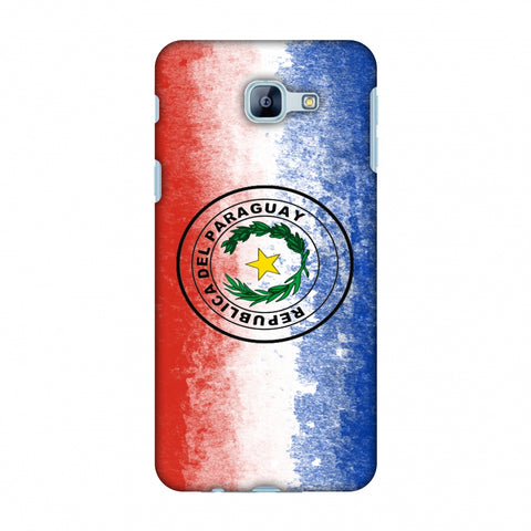 Love For Republic Of Paraguay Slim Hard Shell Case For Samsung Galaxy A8 2016