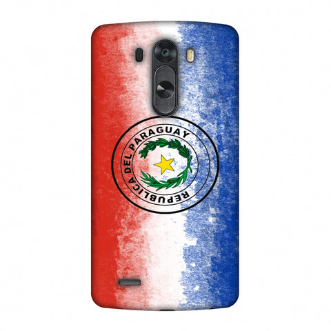 Love For Republic Of Paraguay Slim Hard Shell Case For LG G4