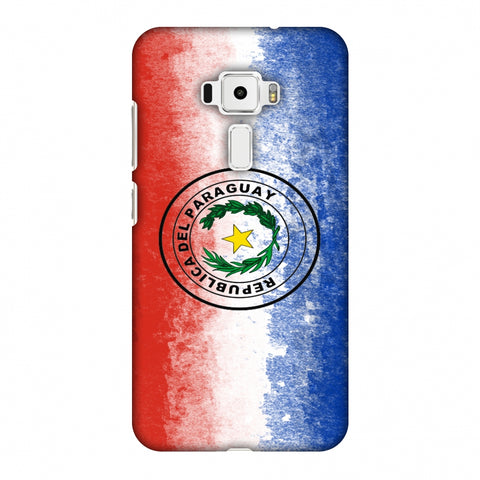 Love For Republic Of Paraguay Slim Hard Shell Case For Asus Zenfone 3 ZE520KL