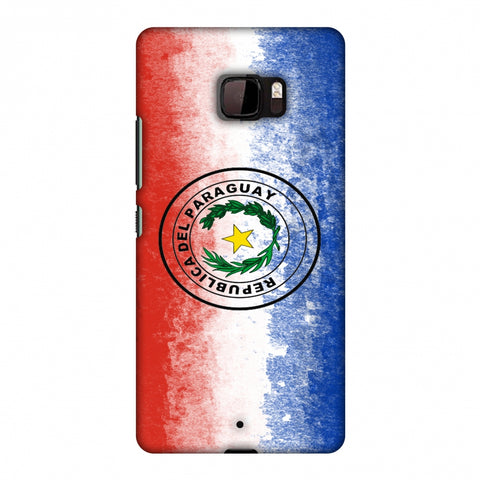 Love For Republic Of Paraguay Slim Hard Shell Case For HTC U Ultra
