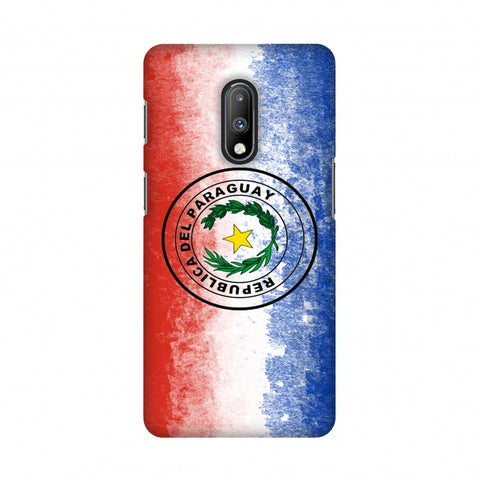 Love For Republic Of Paraguay Slim Hard Shell Case For OnePlus 7