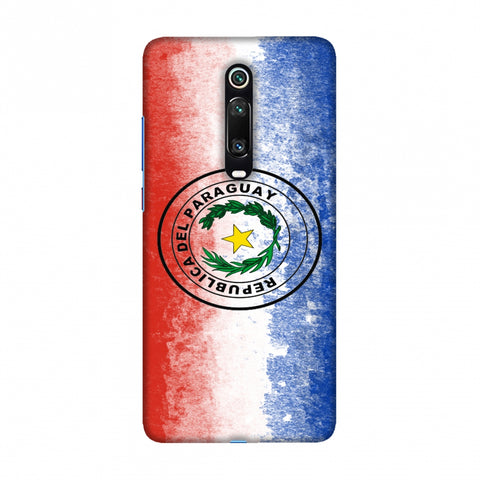 Love For Republic Of Paraguay Slim Hard Shell Case For Redmi K20/K20 Pro