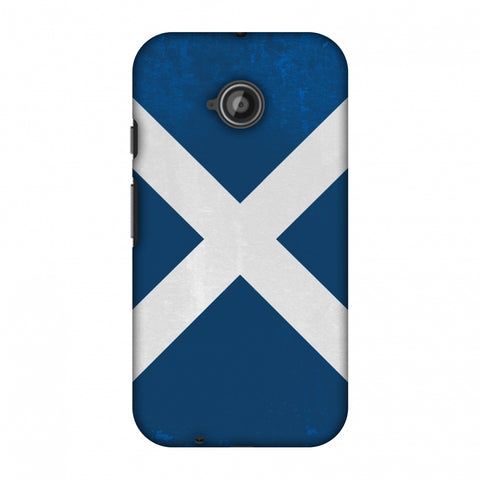 Love For Scotland Slim Hard Shell Case For Motorola Moto E 2nd Gen