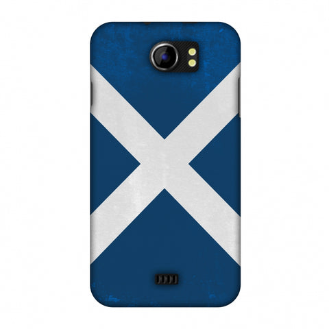 Love For Scotland Slim Hard Shell Case For Micromax Canvas 2 A110