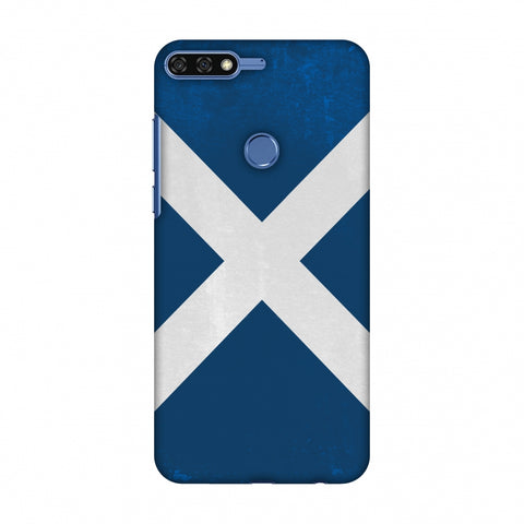Love For Scotland Slim Hard Shell Case For Huawei Honor 7C