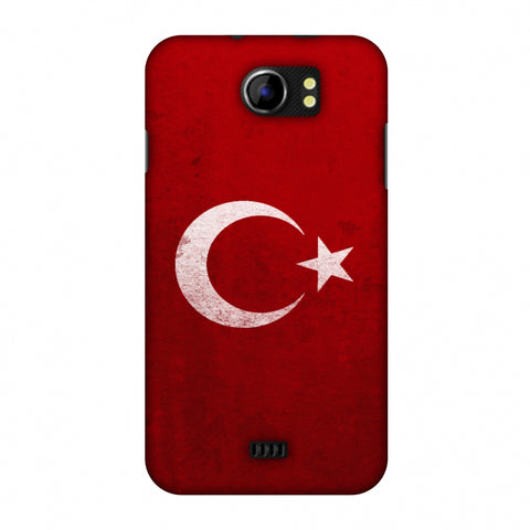 Love For Turkey Slim Hard Shell Case For Micromax Canvas 2 A110