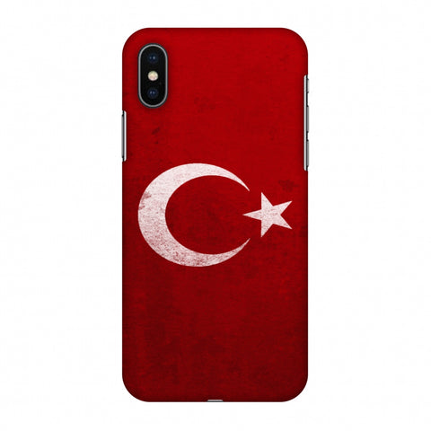 Love For Turkey Slim Hard Shell Case For Apple iPhone X