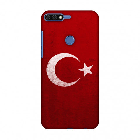 Love For Turkey Slim Hard Shell Case For Huawei Honor 7C