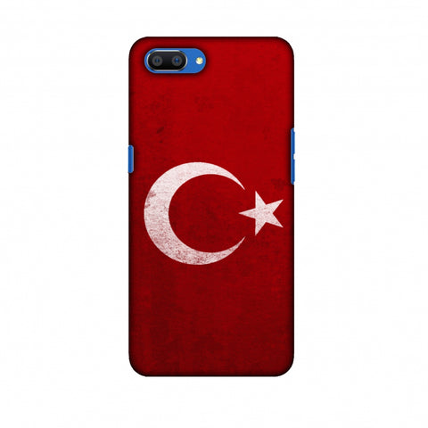 Love For Turkey Slim Hard Shell Case For Oppo Realme C1