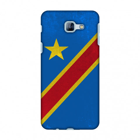 Love For Congo DR Slim Hard Shell Case For Samsung Galaxy A8 2016